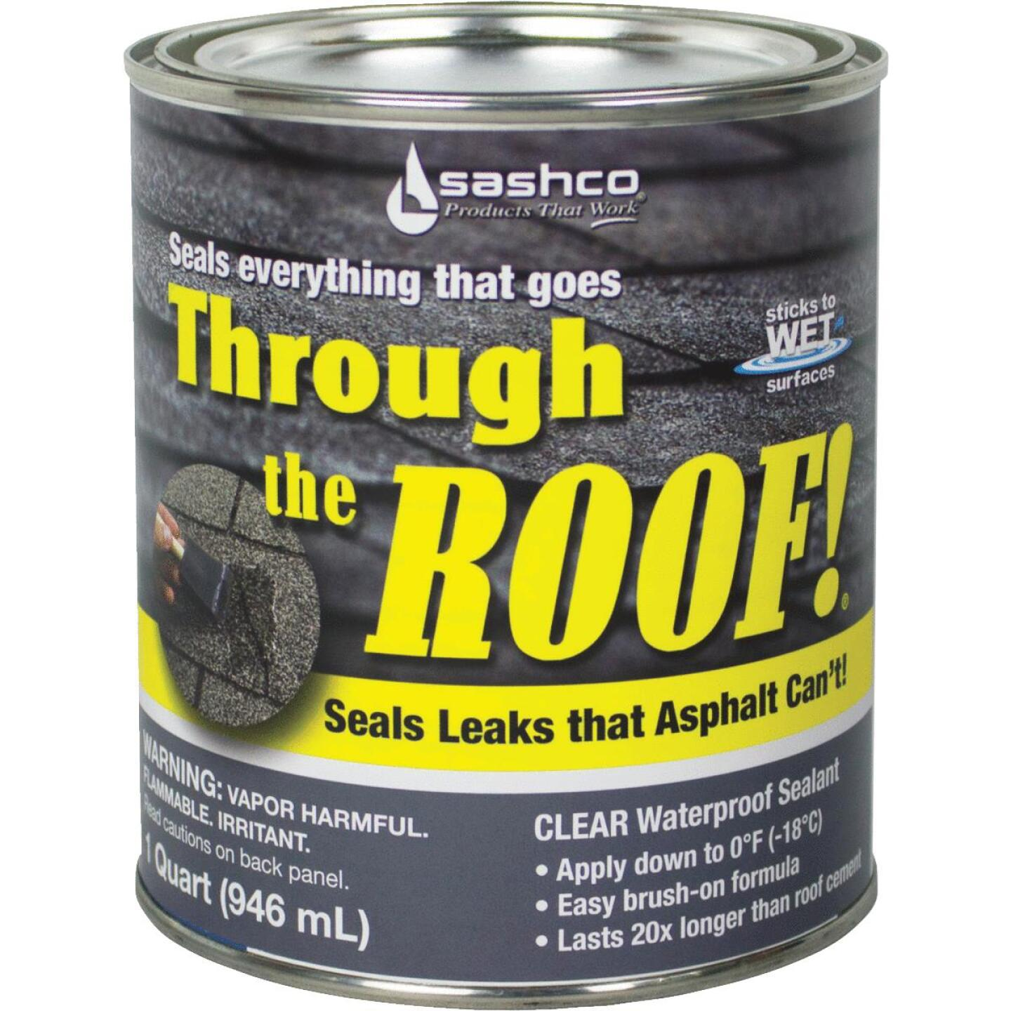 Through The Roof! 1 Qt. VOC Cement & Patching Sealant Image 1