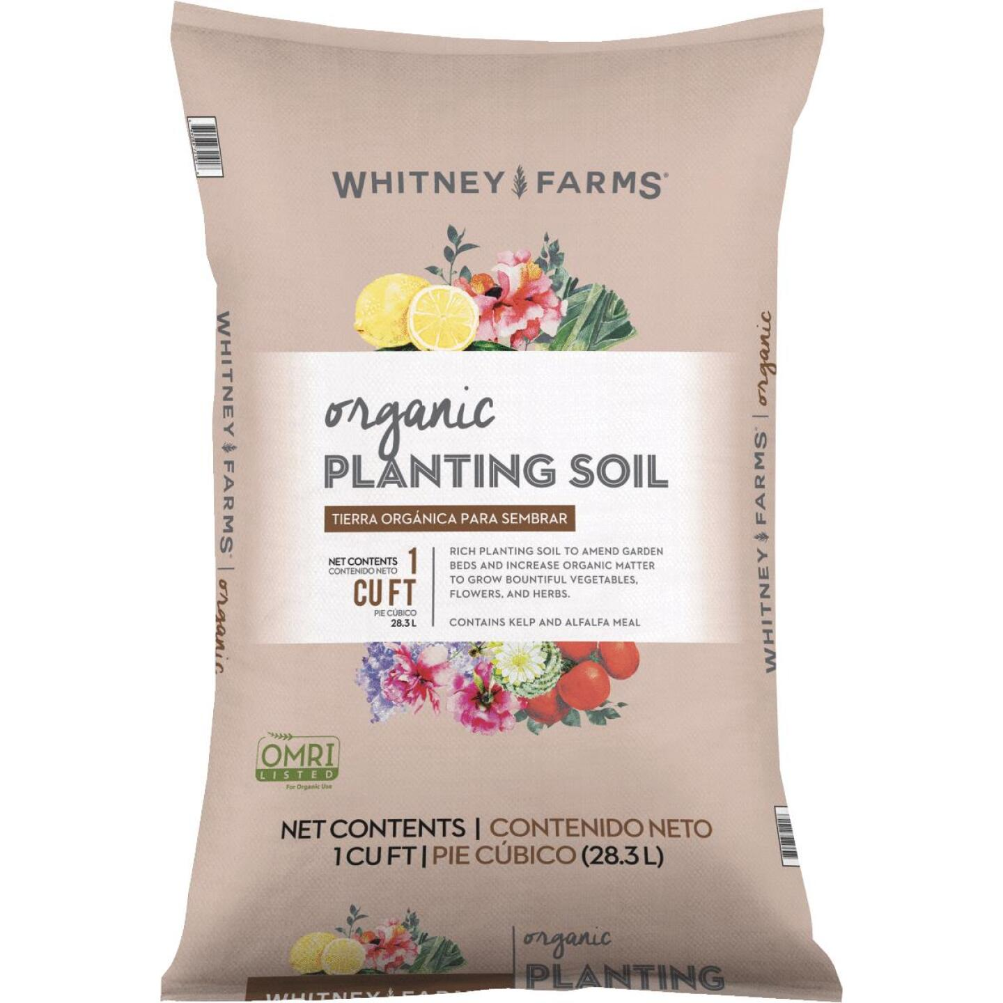 Whitney Farms 1 Cu. Ft. 31 Lb. All Purpose Organic Garden Soil Image 1