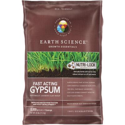 Earth Science 25 Lb. 5000 Sq. Ft. Coverage Fast Acting Gypsum